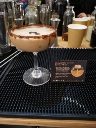 Baileys Treat Bar espresso martini