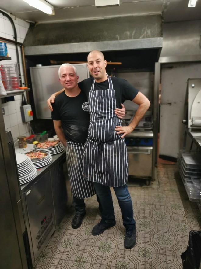 Lost Boys Pizza - kitchen