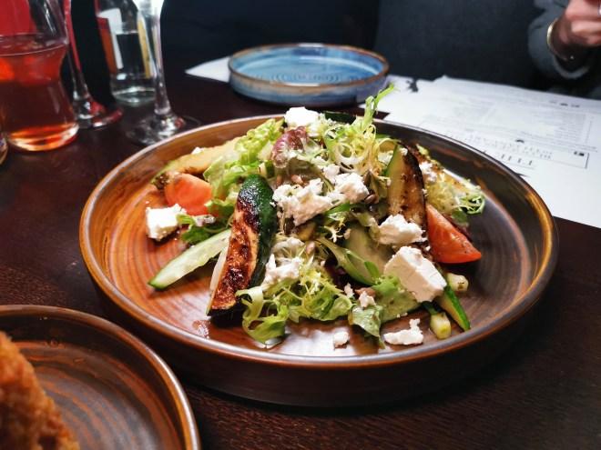 The Fox Coop salad