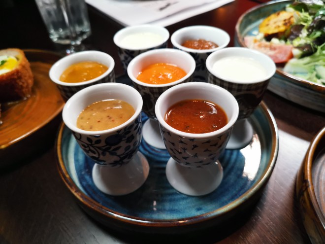 The Fox Coop sauces