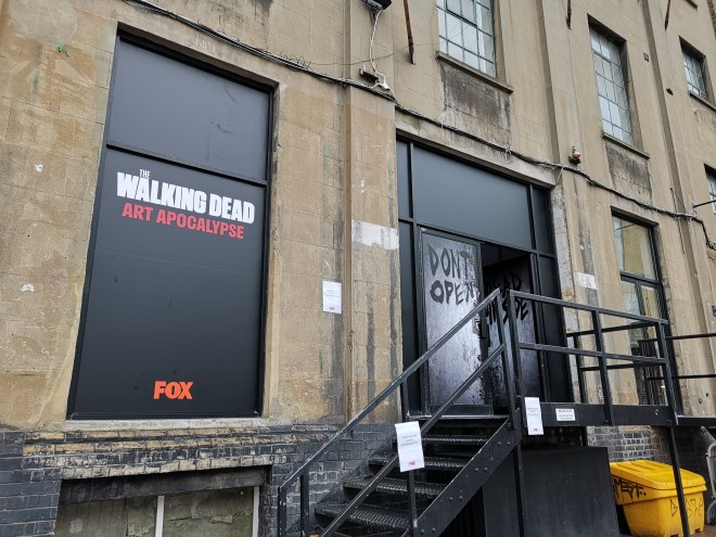 Walking Dead Art Apocalypse pop up