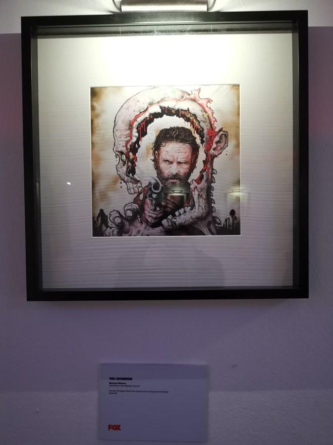 Walking Dead Art art work