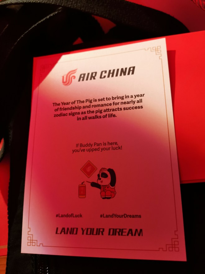 Air China Land of Luck - Land your Dream