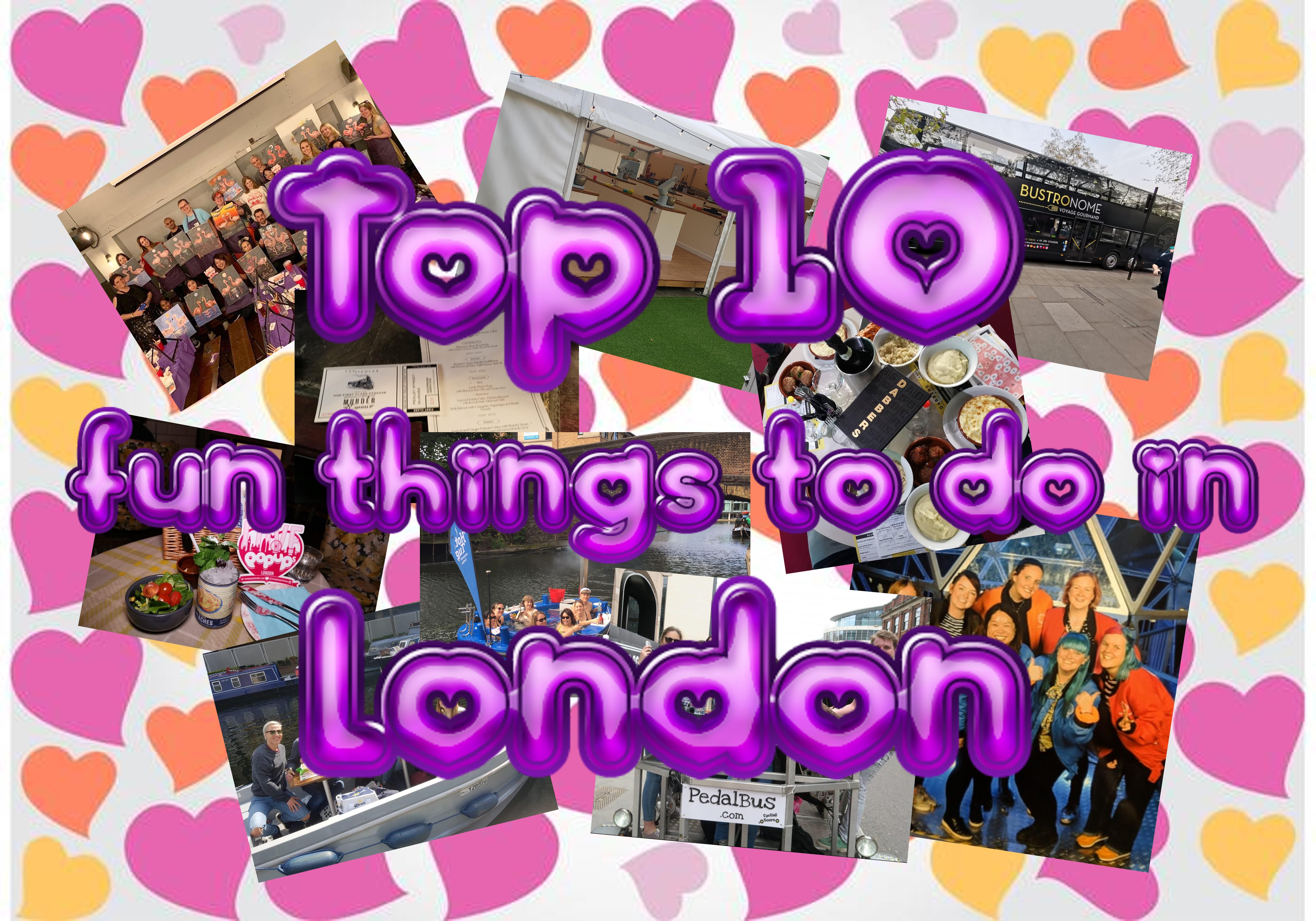 Top 10 Fun Things To Do In London