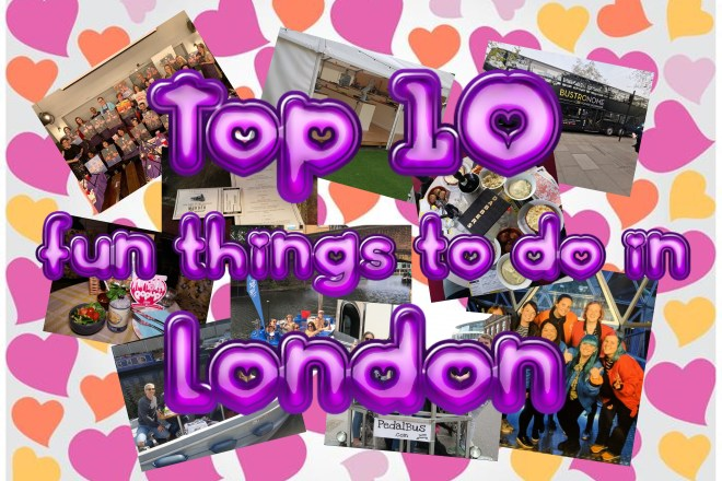 Top 10 fun things to do in London