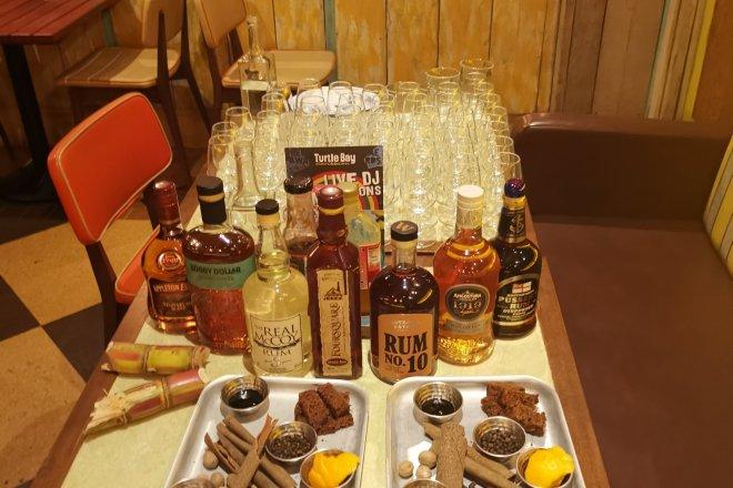 Turtle Bay rum masterclass