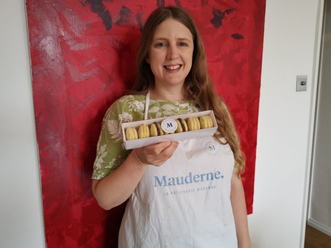Mauderne Baking Class me and my macarons