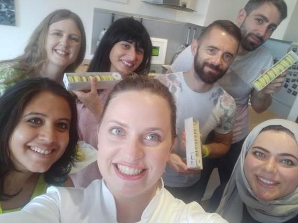 Mauderne Baking Class selfie