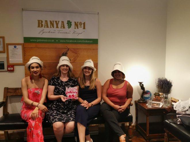 Banya No.1 reception us ladies