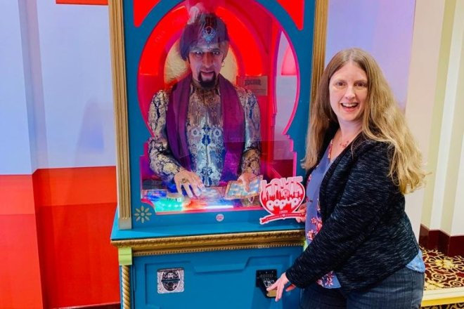 BIG The Musical me with Zoltar
