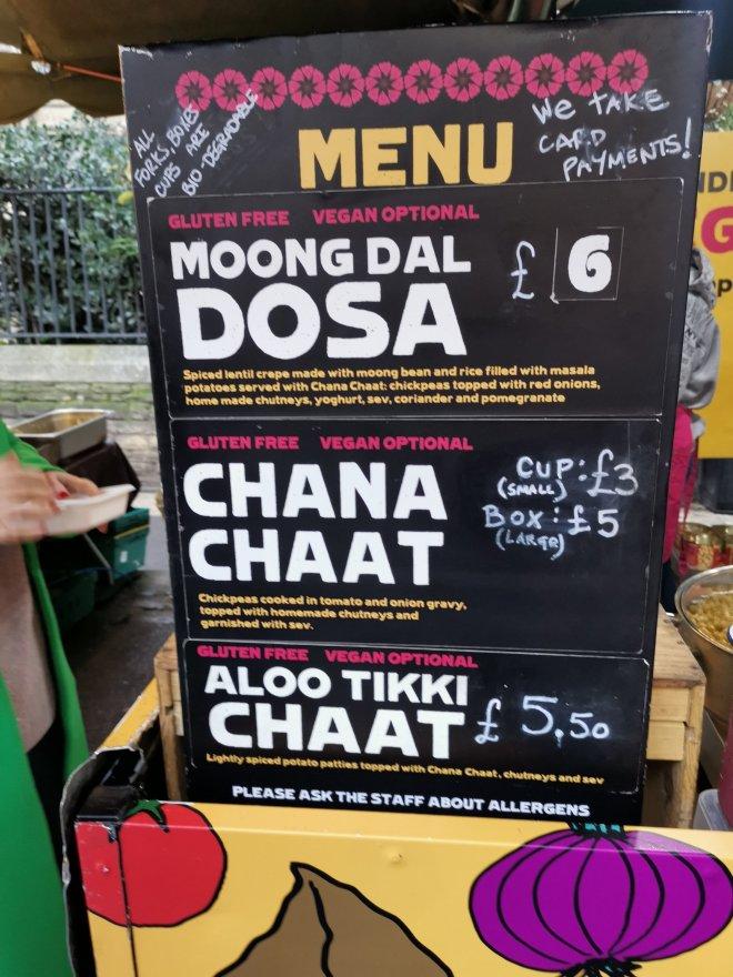 Mimo Borough Market Dosa