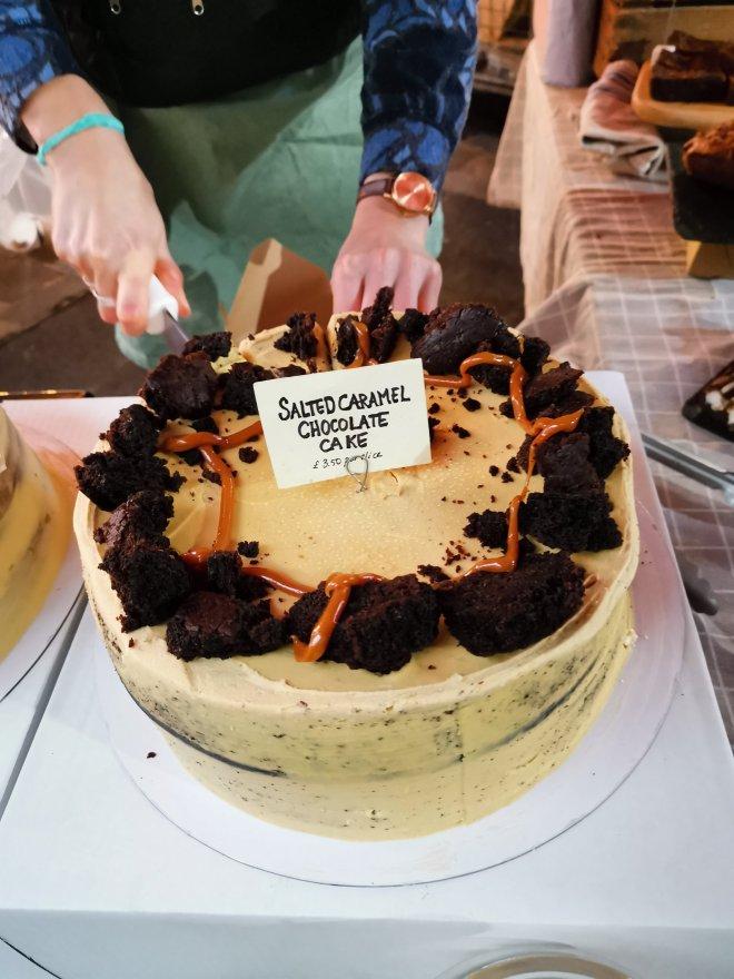 Mimo Borough Market cake