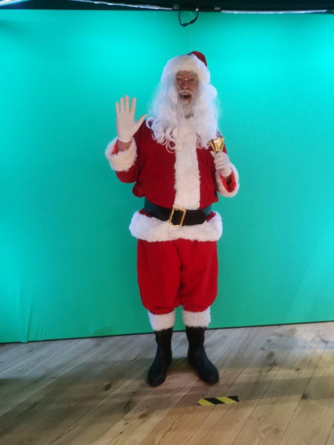 Moonpig Santa