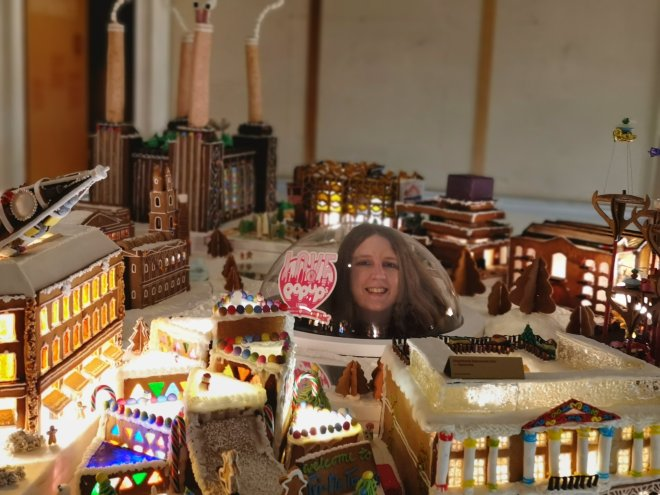 Gingerbread City by Museum of Architecture at Somerset House Photo Love Pop Ups London