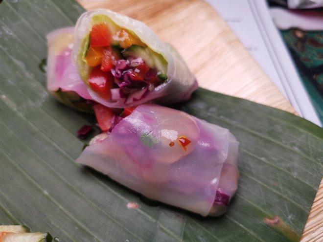 Makan Malaysia veg roll