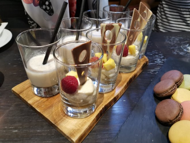 DoubleTree Hilton Pirate Afternoon Tea smoothie