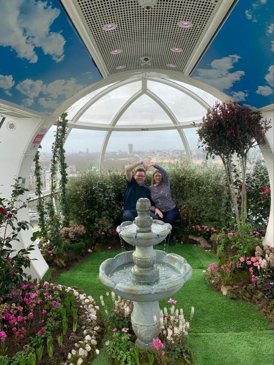 London Eye pod Royal Park