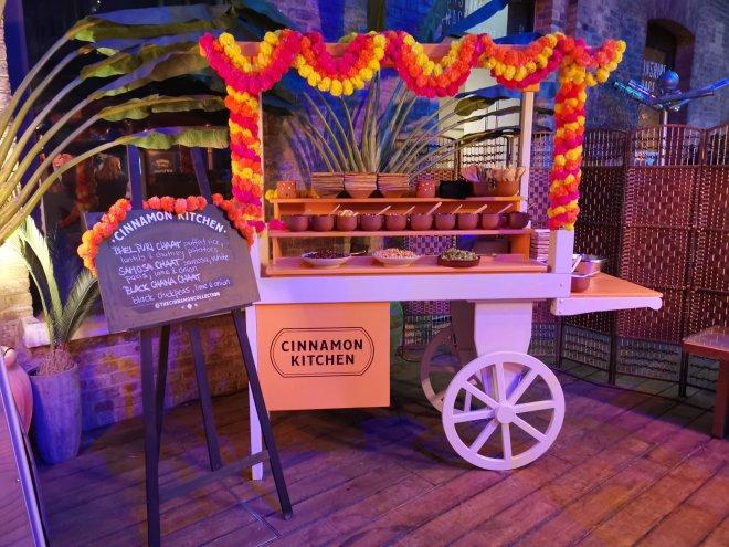 Cinnamon Kitchen Holi stall