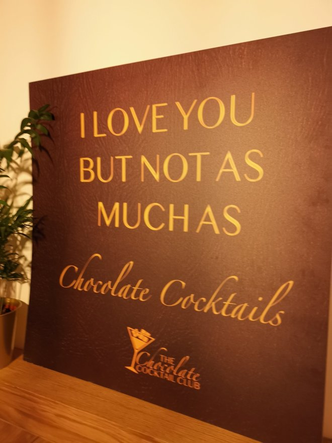 The Chocolate Cocktail Club poster