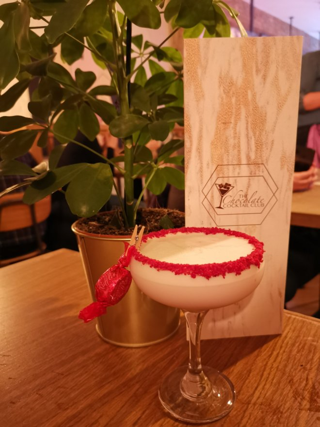 The Chocolate Cocktail Club raspberry