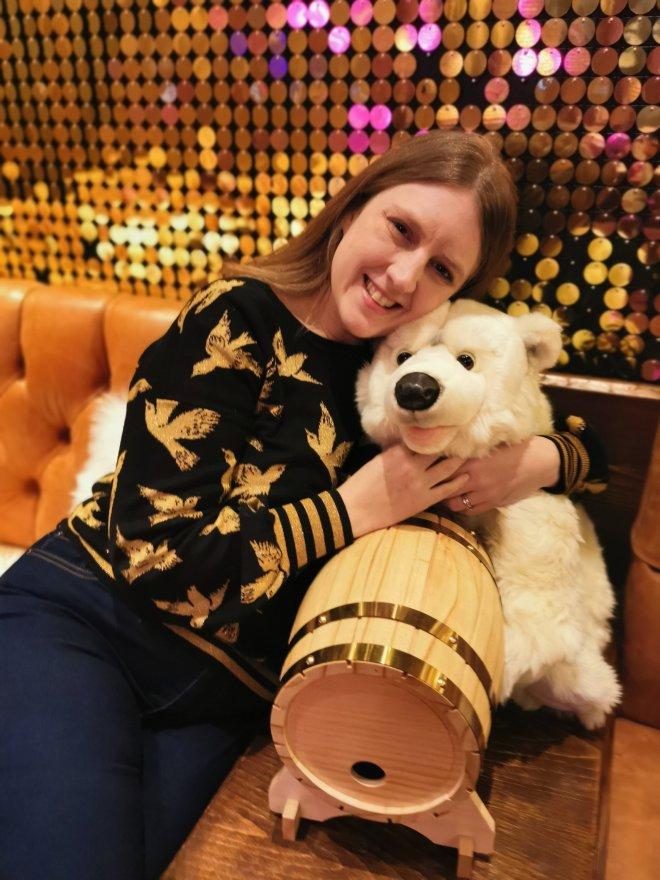 TwoRuba me and polar bear