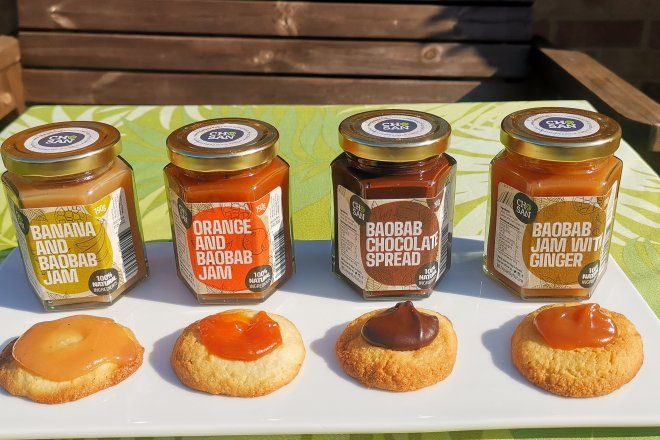 Chosan by Nature baobab jams and spreads