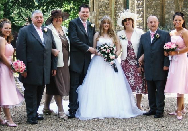 Chocface family Wedding Day 070707