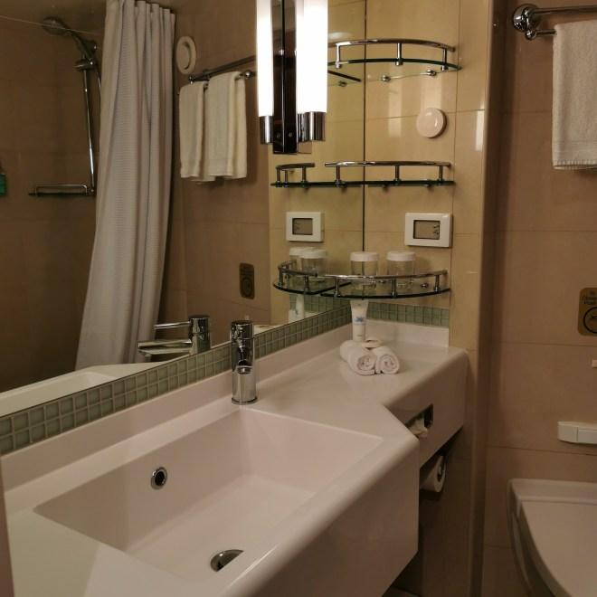 Regal Princess M233 Mini Suite bathroom