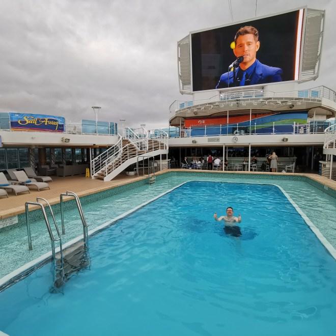 Sky Princess Jason in pool deck 16
