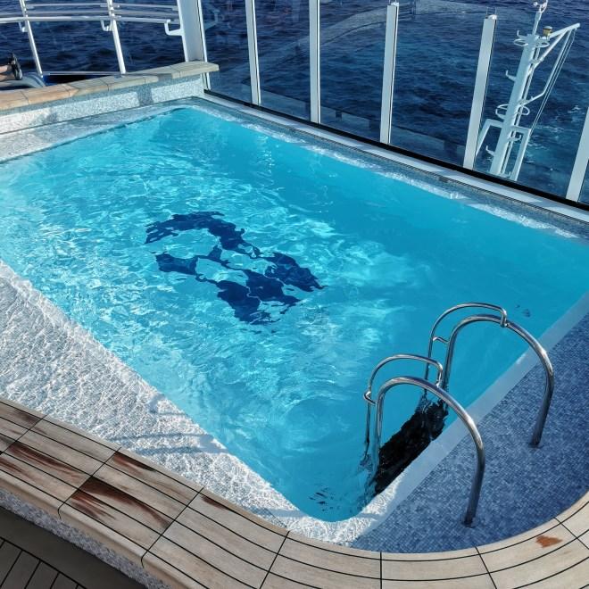 Sky Princess Wake pool
