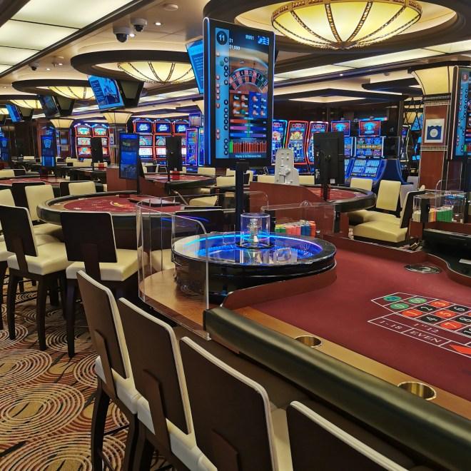 Sky Princess cruise Sky Princess casino deck 6