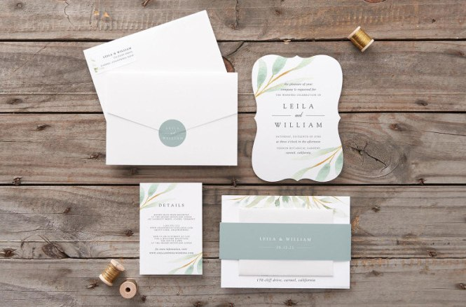 The Best Places To Your Wedding Invitations Online Loverly