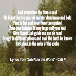 Jah Rule the World Lyrics