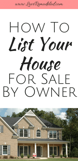 Sell Your House For Sale By Owner