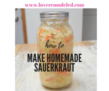 How to Make Healthy Sauerkraut