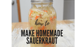 How to Make Healthy Sauerkraut