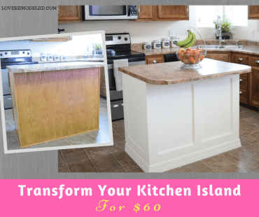 How to Add Moulding to a Kitchen Island