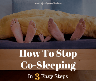 How To Stop Co-Sleeping With A 4 Year Old