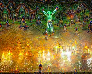 The man burns, in the halls of the dead, deep dreams style