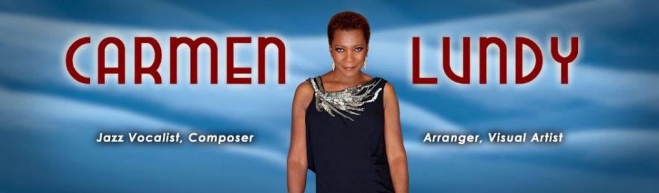 Web site header for Carmen Lundy