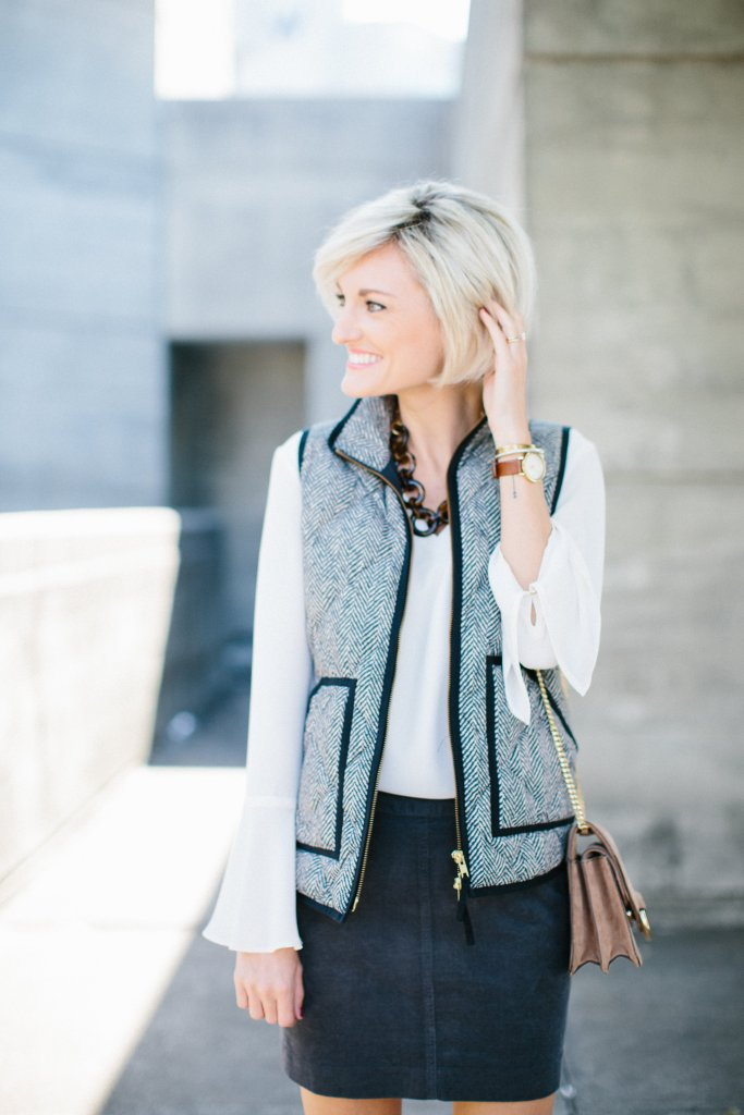Vest & Skirt Combo Loverly Grey - @loverlygrey
