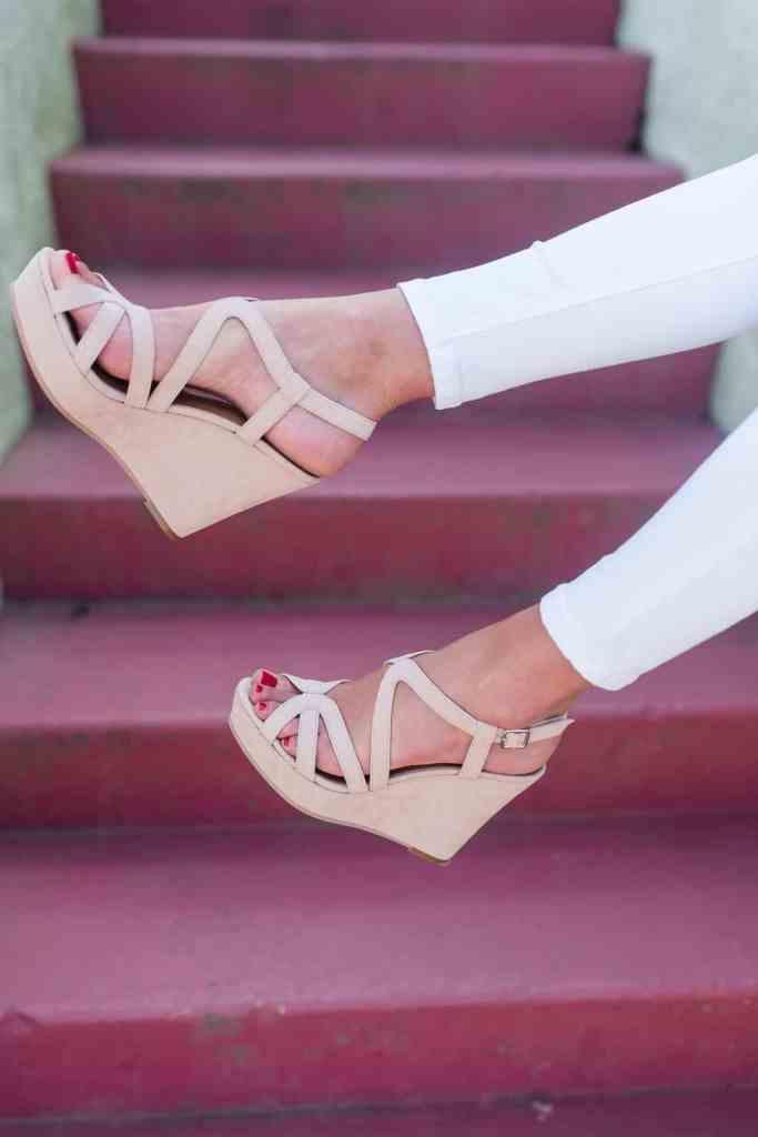 @loverlygrey nude sandals