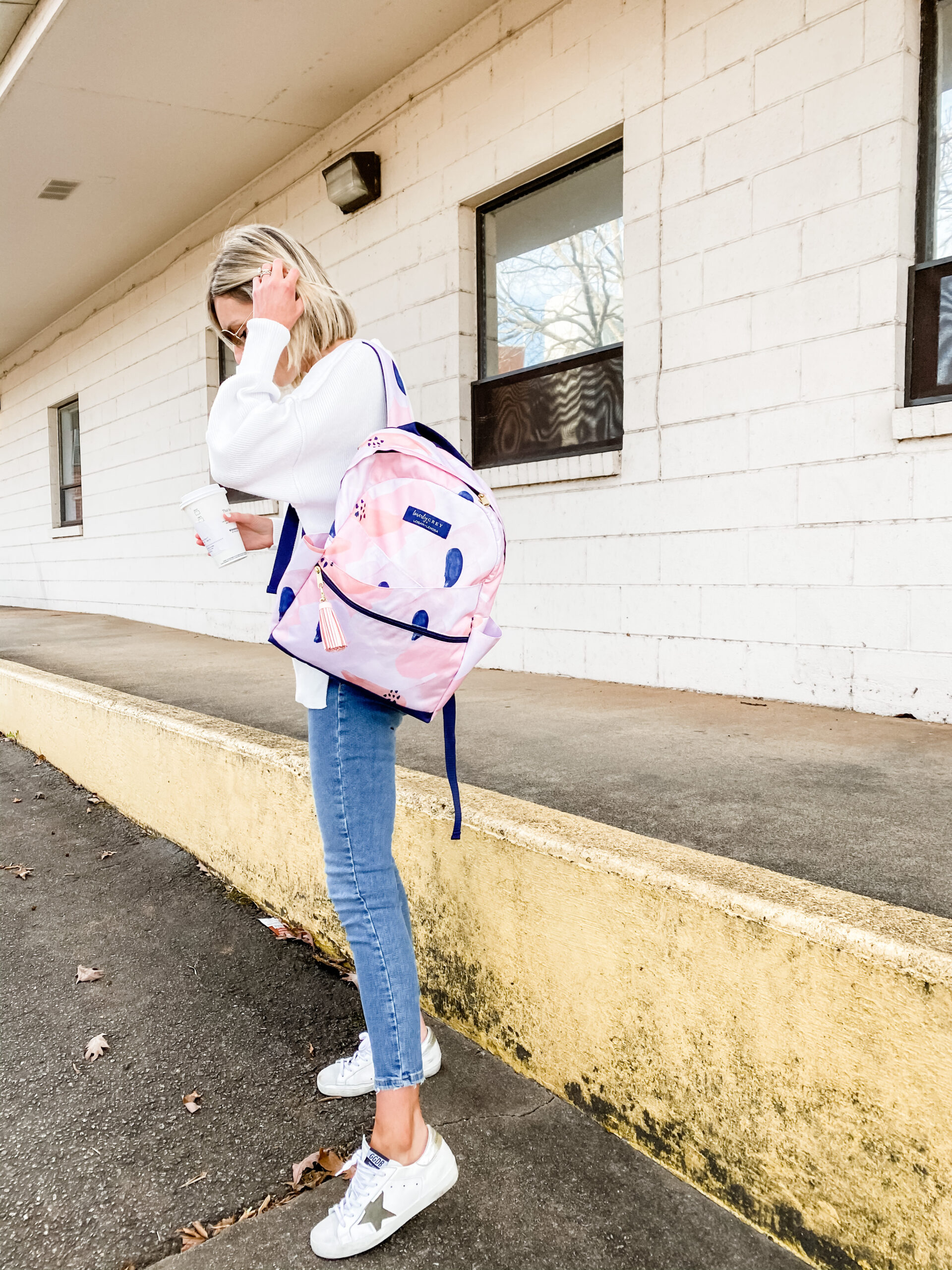 Loverly Grey x Logan + Lenora Backpack