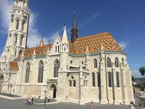 Castle church area