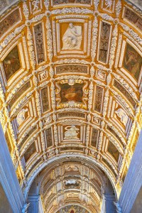 Doge's Palace stair ceiling