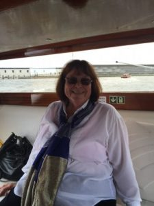 Janeen - water taxi to hotel