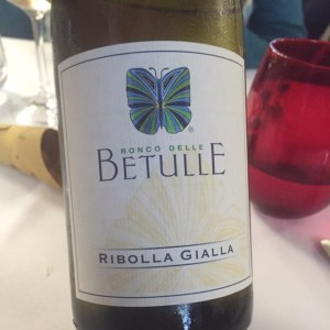 Lunch wine front Ronco Delle Betulle
