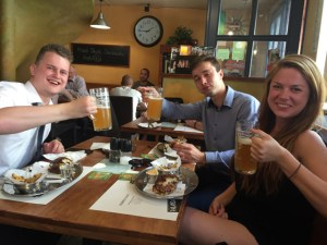 Prague Lunch Burger next table 1