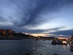 boat tour - night sky