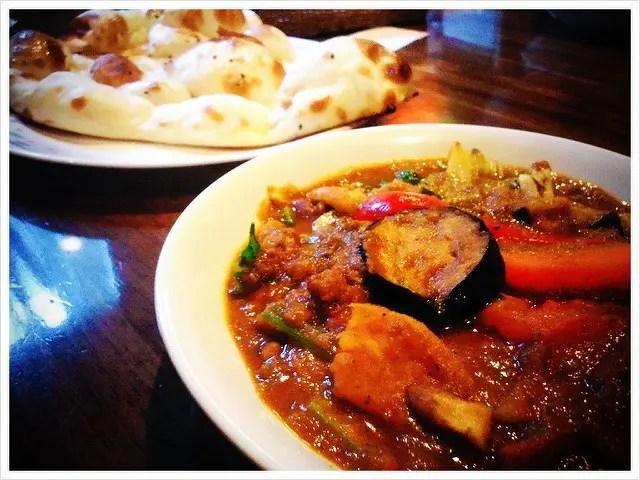 豆と野菜のカレー!ミルチ